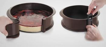 Moule à gâteau silicone démontable