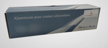 Rouleau papier aluminium professionnel
