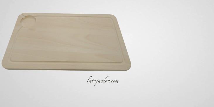planche d couper bois avec rigole planche d couper professionnelle la toque d 39 or. Black Bedroom Furniture Sets. Home Design Ideas