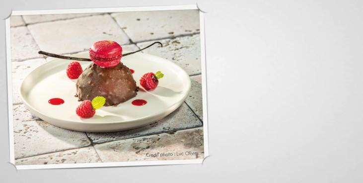 Rocher coulant chocolat Manjari