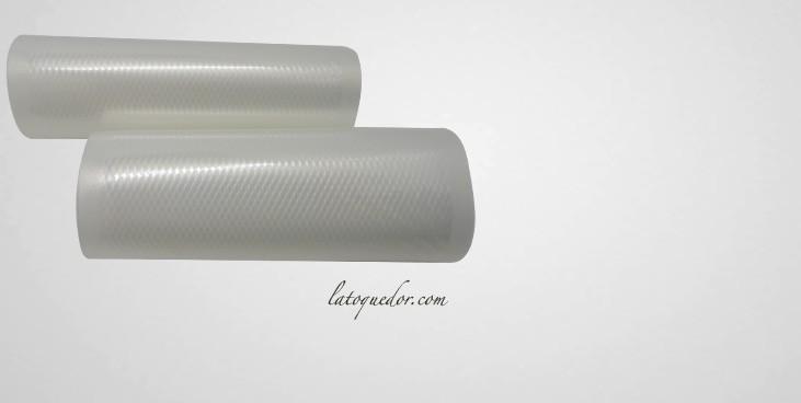Rouleaux sous vide gaufrés 30 cm x 6 m (x2)